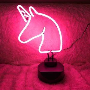 Other - NIB Unicorn 🦄 Pink Neon Light